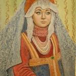 Барышня (портрет дочери)