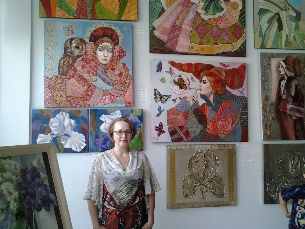 Выставка в СГЭУ г. Самара, июнь-июль 2014